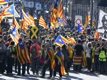 Noticias fin de semana (16-03-19) El independentismo se manifiesta en Madrid por el derecho de autodeterminación y contra el juicio del 'procés'