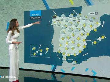 La semana acabará con precipitaciones en el norte y bajada de temperaturas