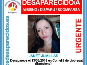 La desaparecida en Barcelona, Janet