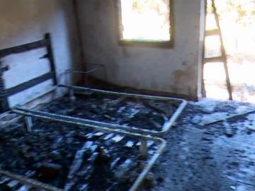 El Hotel Rural Molino del Agua, devastado por el fuego