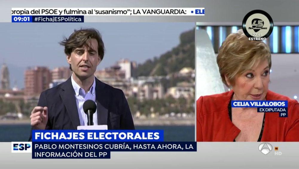 La exdiputada del PP, Celia Villalobos.