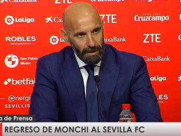 Monchi, en rueda de prensa