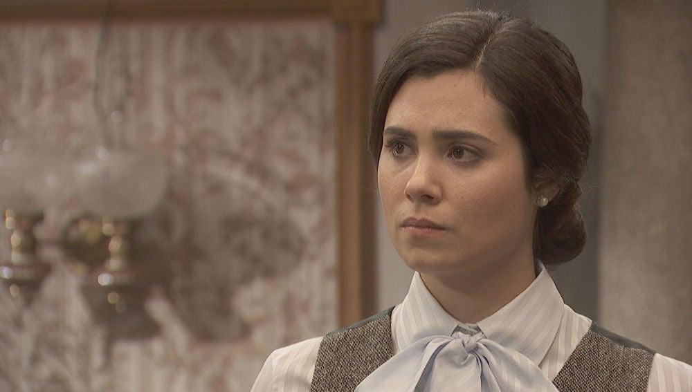 """Fernando, a María: """"¿Te pensabas que me iba a ir de Puente Viejo sin más?"""""""