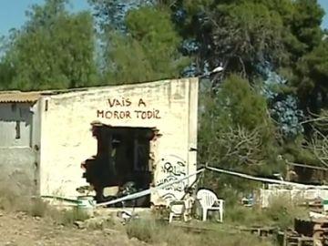 Casa donde asesinaron a los niños de Godella