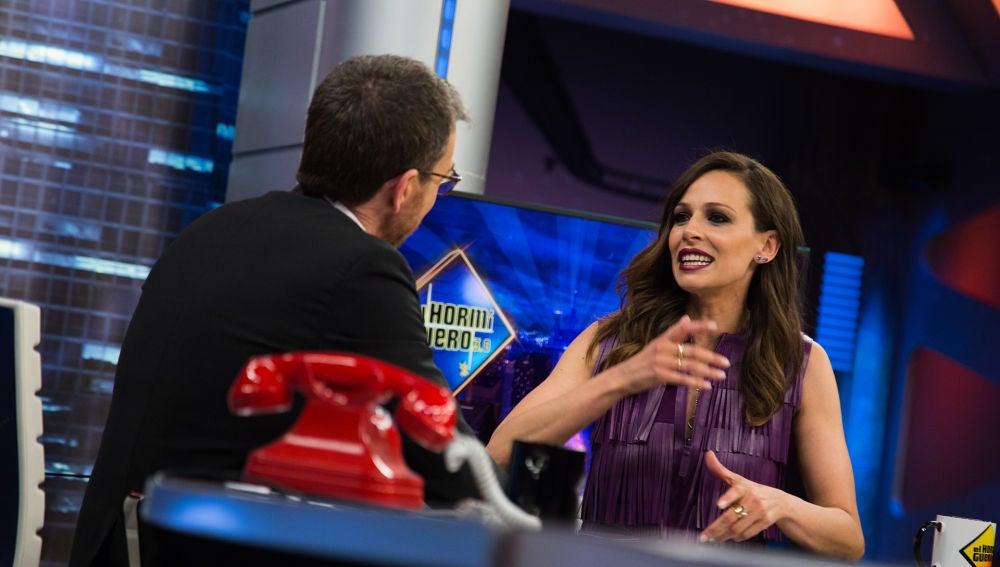 Eva González revela en 'El Hormiguero 3.0' su máxima en la televisión y para presentar 'La Voz'