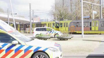 Zona donde ha sido el atentado en Utrecht