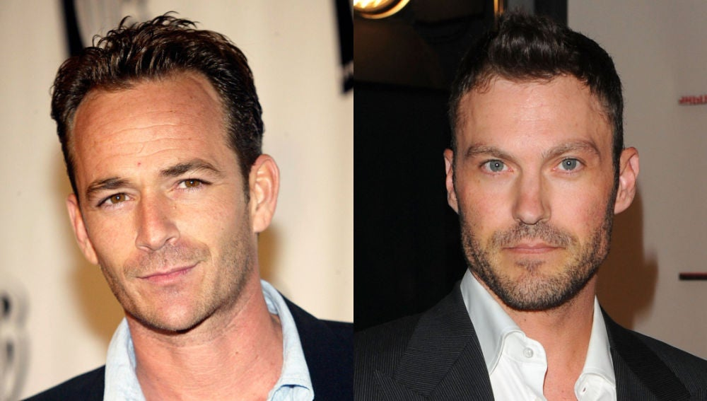 Brian Austin Green y Luke Perry