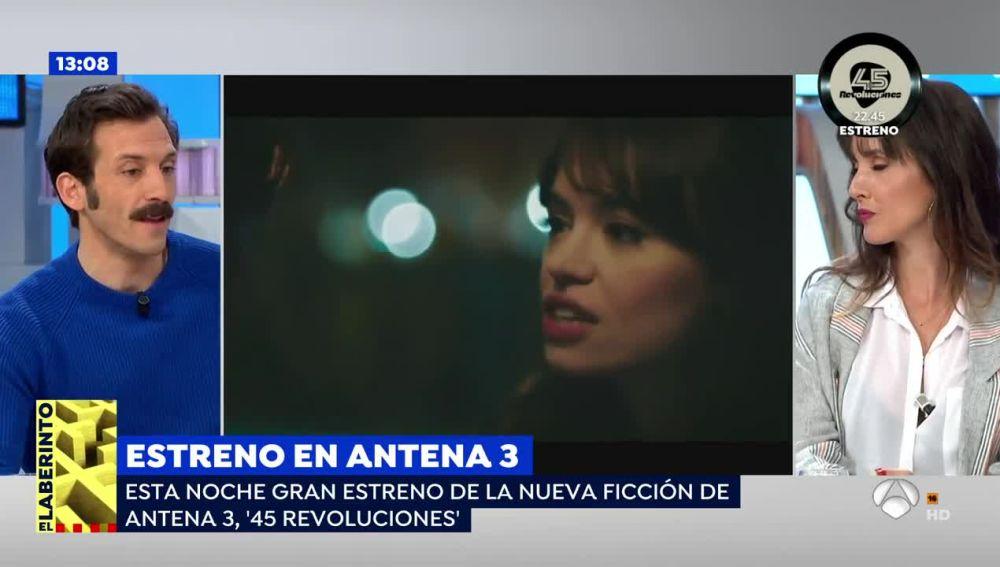 """VÍDEO: Iván Marcos: """"Los personajes buscan cambiar las cosas desde la música"""""""