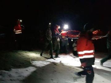 El operativo que buscaba desde la noche del pasado domingo a 25 excursionistas gallegos