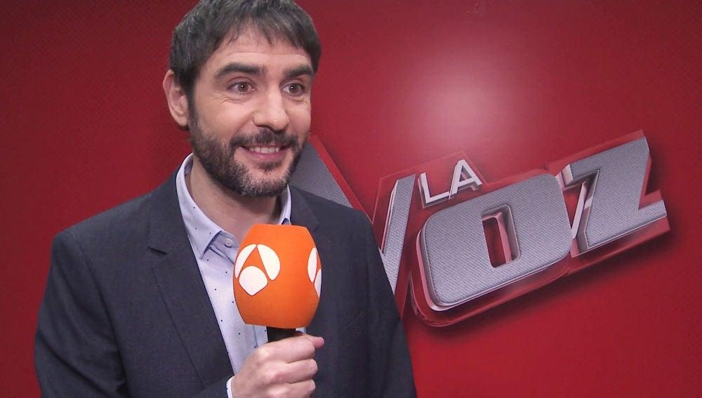 """Juanra Bonet revela sus funciones en los Directos de 'La Voz': """"Voy a estar con los talents sufriendo sus nervios"""""""