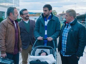 Iñaki asume con temerosa ilusión su segunda paternidad
