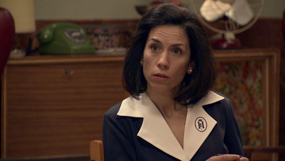 """Manolita sigue insistiendo a Marcelino para que acepte a Luisita : """"Tu hija te va a dejar de hablar de por vida"""""""