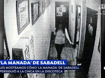 Víctima de 'la Manada de Sabadell'
