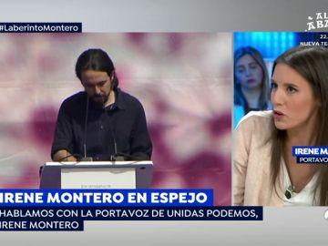 """Irene Montero: """"Pablo Iglesias es nuestro mejor candidato posible"""""""