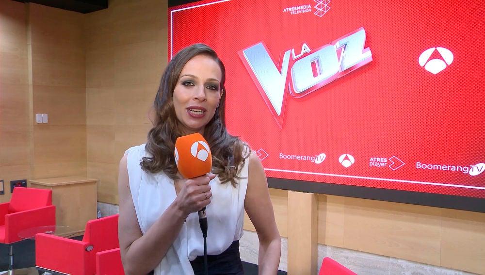 Rueda de prensa: Eva González antes del Directo de 'La Voz'
