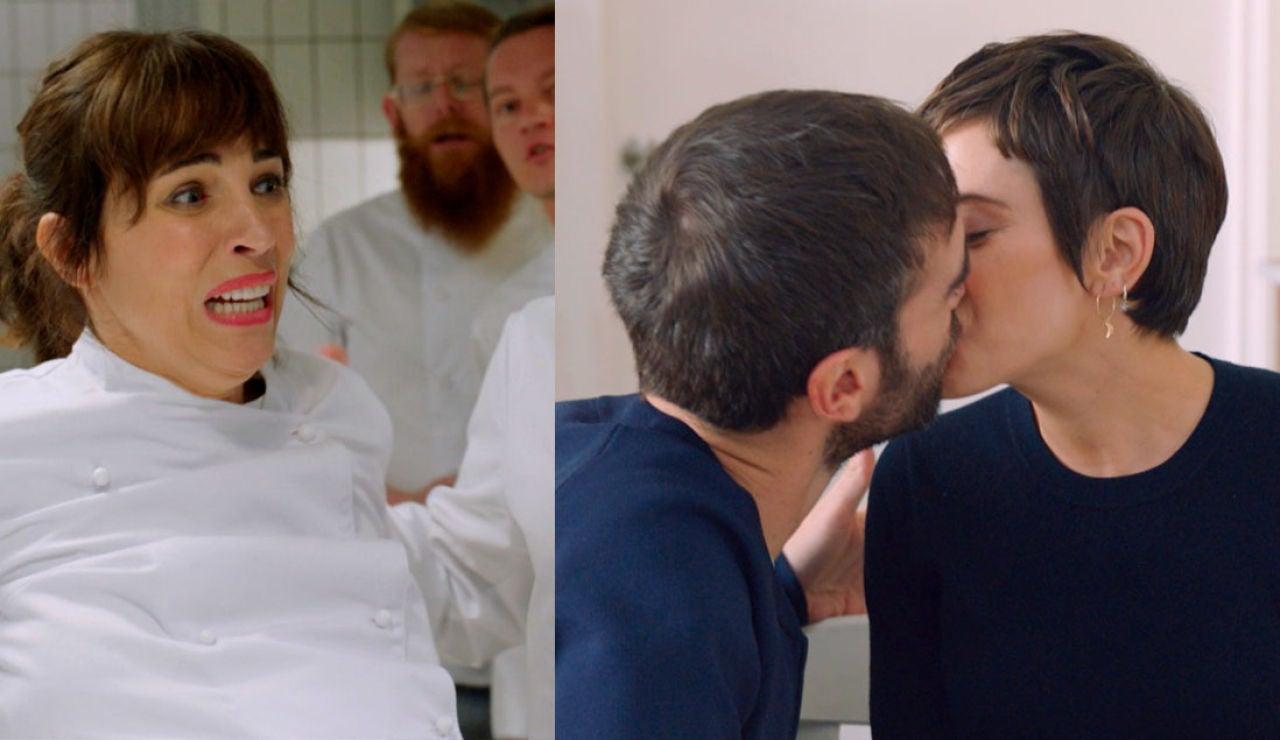 Gotzone se pone de parto mientras Iñaki vive feliz con Carmen ajeno a su doble paternidad