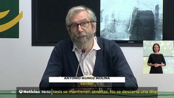 Antonio Muñoz Molina publica nuevo libro.