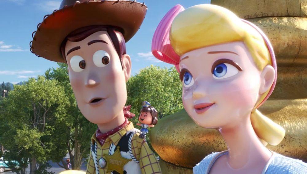 El reencuentro de Woody y Bo Peep en 'Toy Story 4'