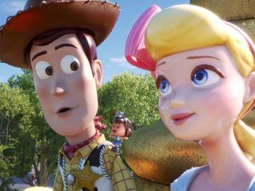 El reencuentro de Woody y Bo Beep en 'Toy Story 4'