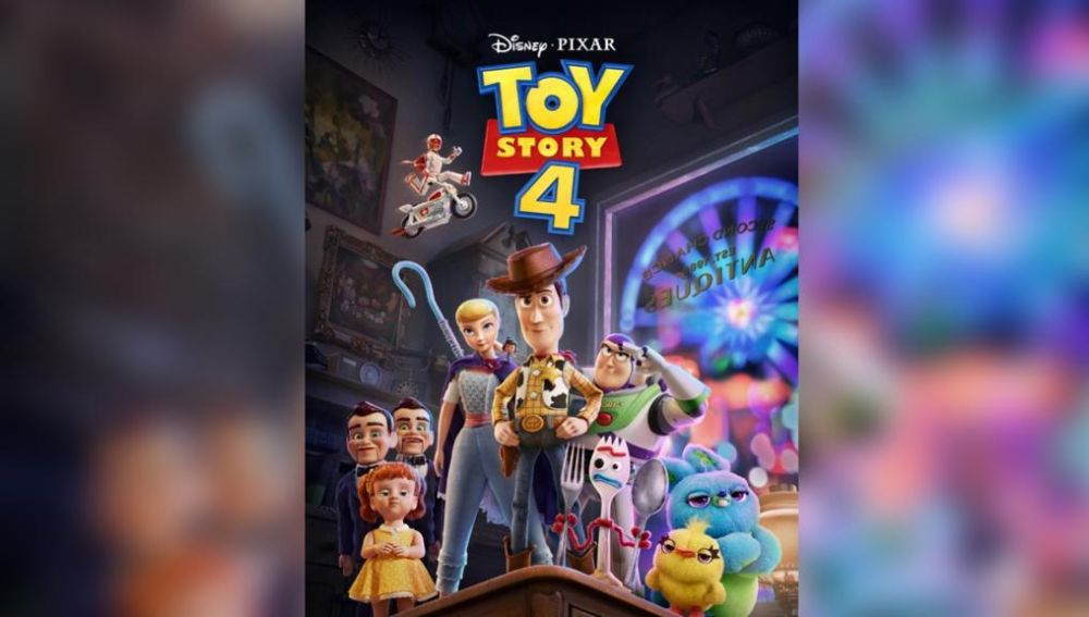 Cartel de Toy Story 4