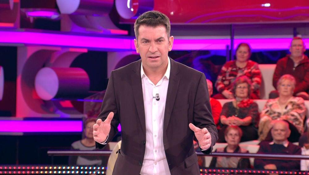 Así se ha quedado Arturo Valls con la técnica de relajación de Ivanna en '¡Ahora caigo!'