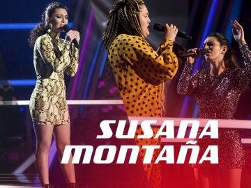 VÍDEO: Así han sido las actuaciones de Susana Montaña en 'La Voz'