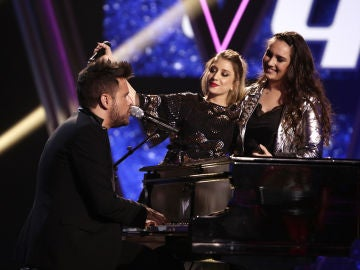 VÍDEO: Pablo López canta 'Y sin embargo' con Palomy y Auba Murillo en los Directos de 'La Voz'