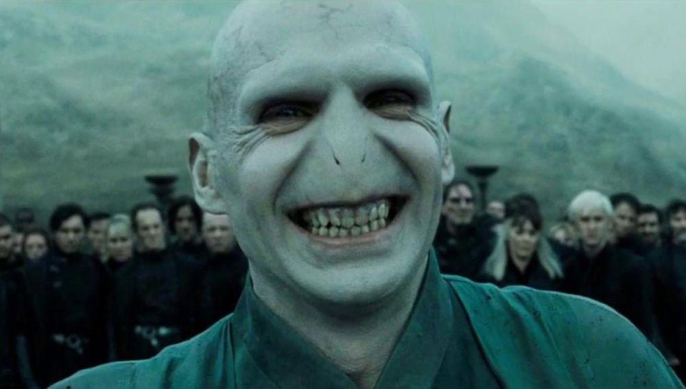 Lord Voldemort, interpretado por Ralph Fiennes en 'Harry Potter'