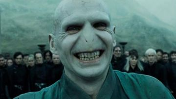 Lord Voldemort, interpretado por Ralph Fiennes en 'Harry Potter'
