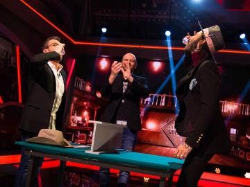 Leiva y Pablo Motos se desafían en una partida de póker al estilo 'El Hormiguero 3.0'