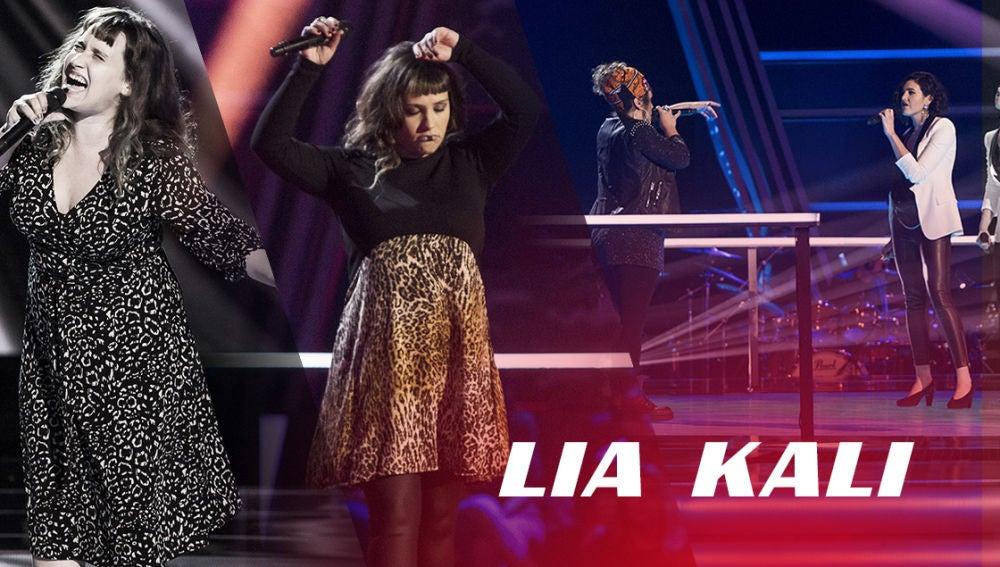 VÍDEO: Así han sido las actuaciones de Lia Kali en 'La Voz'