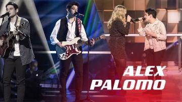 VÍDEO: Así han sido las actuaciones de Alex Palomo en 'La Voz'