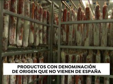 El fraude en los productos con denominación de origen que no vienen de España
