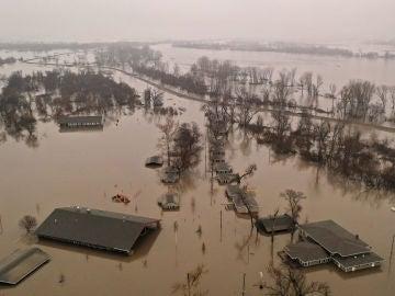Inundaciones en Nebraska