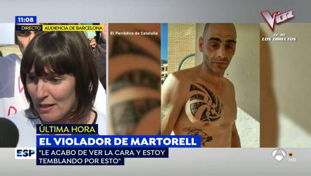 Montse, víctima del violador de Martorell
