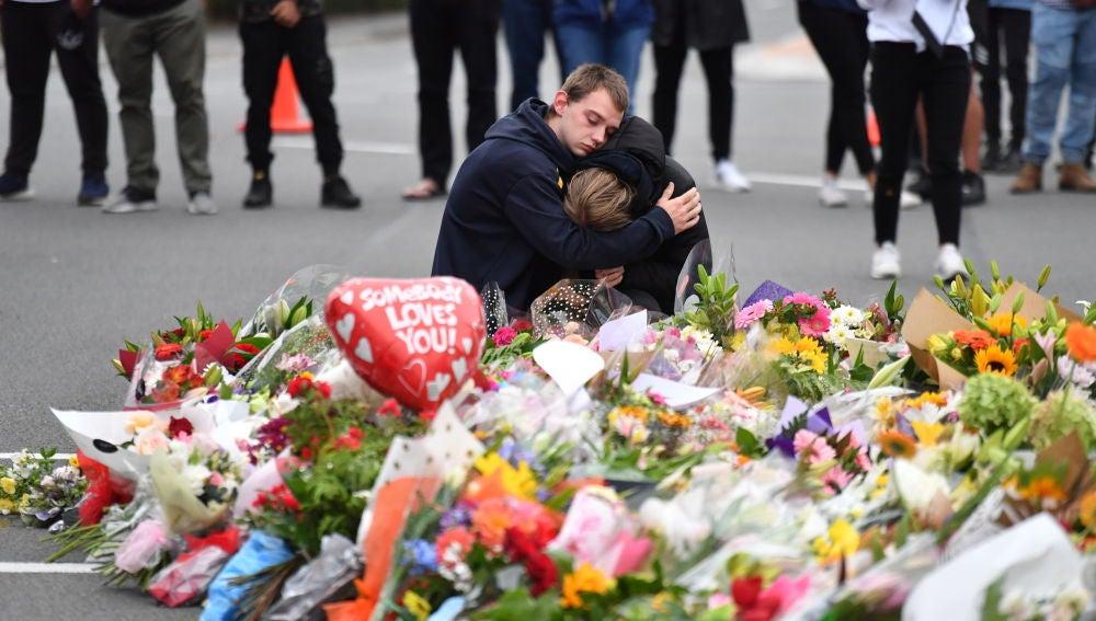 Memorial por las víctimas de Nueva Zelanda
