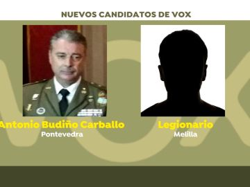 Vox recluta más militares como candidatos