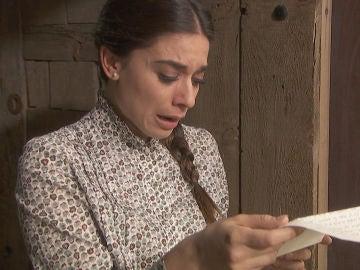 Elsa descubre el juego sucio de Álvaro horas antes de la boda
