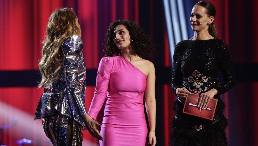 Una emocionada Susana Montaña se despide de 'La Voz'