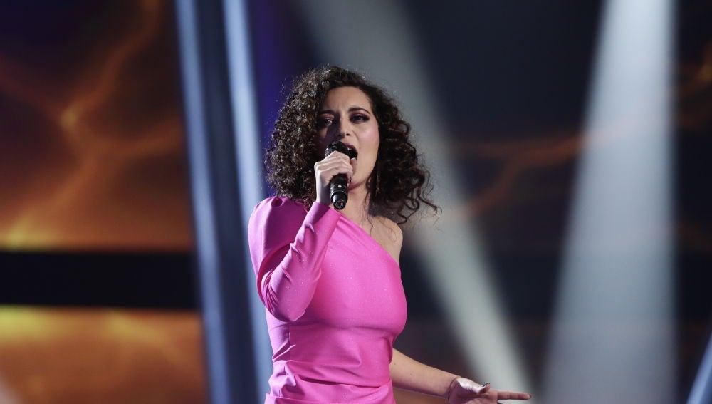 Susana Montaña canta 'Bohemian Rhapsody' en los Directos de 'La Voz'