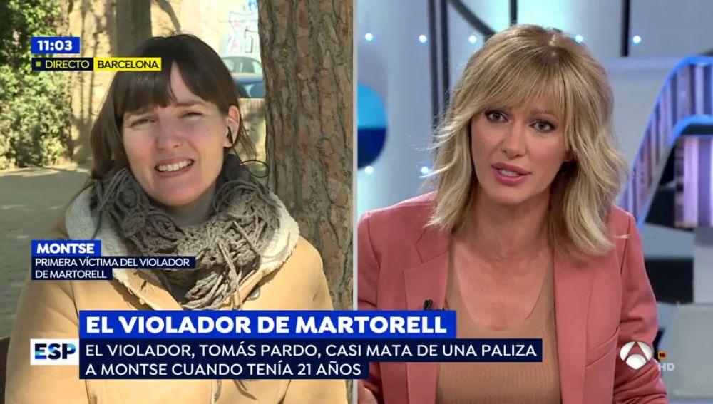 Primera víctima del violador de Martorell