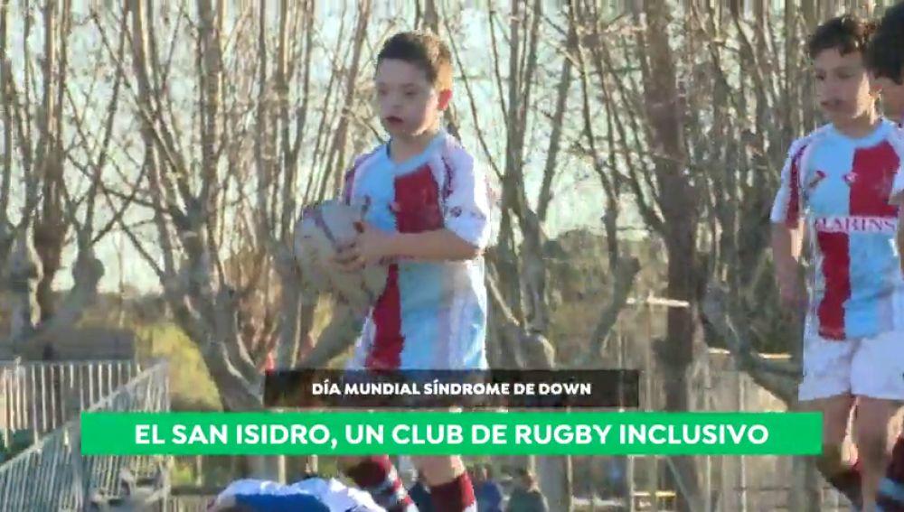 """El San Isidro, un club de rugby inclusivo para niños con Síndrome de Down: """"Se trata a todos los chicos por igual"""""""