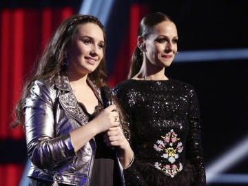 VÍDEO: Auba Murillo se convierte en semifinalista de 'La Voz'