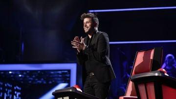 VÍDEO: Pablo López se queda mudo tras la mágica actuación de Auba Murillo en los Directos de 'La Voz'