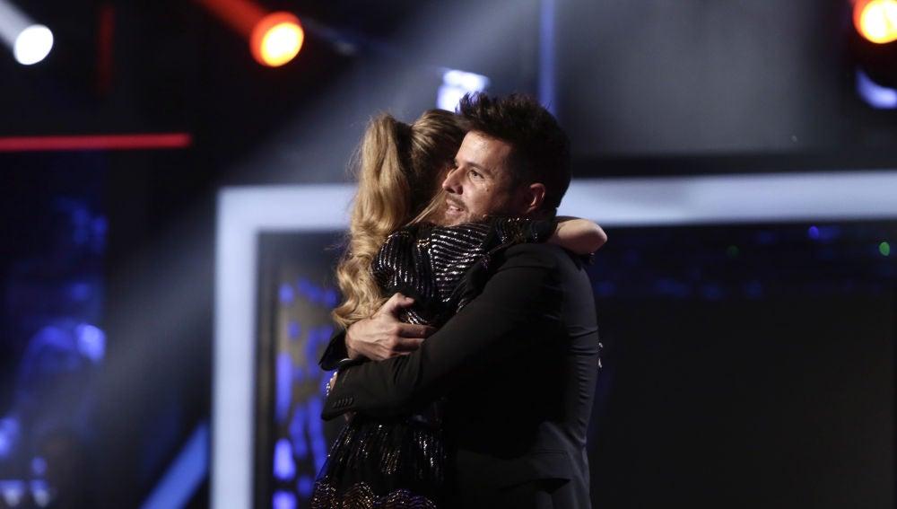 """VÍDEO: Pablo López a Palomy después de su actuación en los Directos: """"No te engañaría ni cambiaría por cualquiera"""""""