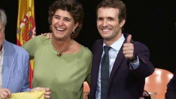 María San Gil dice 'no' a Pablo Casado: Rechaza ser la numero 2 por Madrid y sumarse a la candidatura en las elecciones europeas