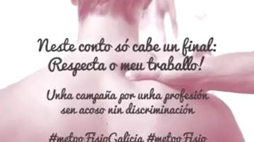 Los fisioterapeutas gallegos lanzan una campaña contra el acoso y la discriminación en su profesión