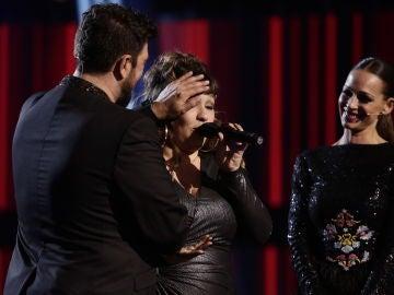 """La esperanzadora despedida de Lia Kali en los Directos de 'La Voz': """"Nos vemos en los escenarios"""""""