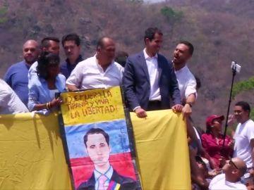 Juan Guaidó denuncia que el servicio de inteligencia de Maduro ha detenido a su mano derecha