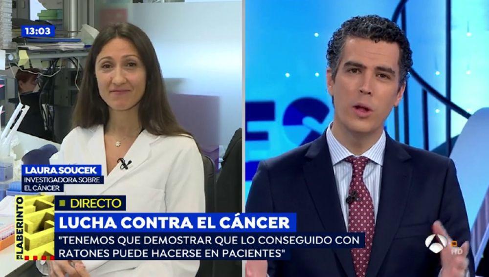 Laura Soucek revoluciona la lucha contra el cáncer